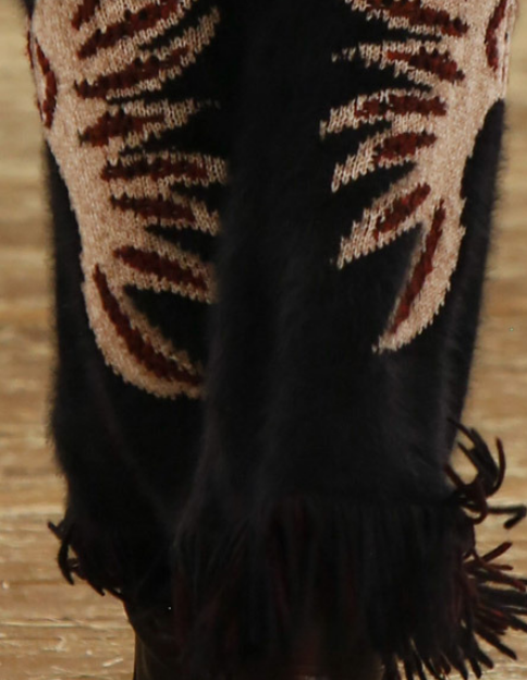 Decorialab - Trend Report - Blanket Skirts and Miles of Fringe - Chanel - Pre Fall 2014 (6)